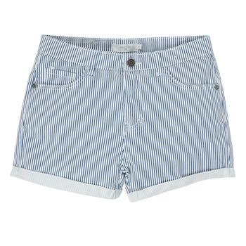 衣服 女孩 短裤&百慕大短裤 Deeluxe BILLIE 白色 / 蓝色
