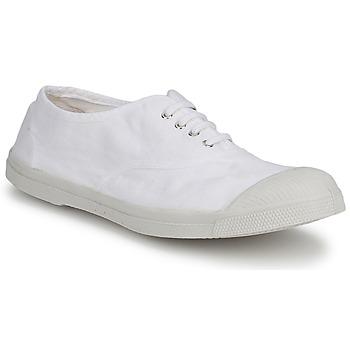 鞋子 男士 球鞋基本款 Bensimon TENNIS LACET 白色