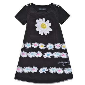 衣服 女孩 短裙 Desigual 21SGVK28-2000 黑色