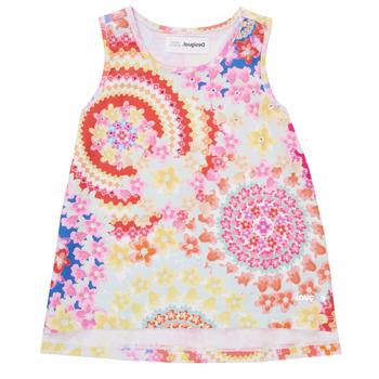 衣服 女孩 无领短袖套衫/无袖T恤 Desigual 21SGCW02-3146 多彩