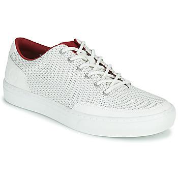 鞋子 男士 球鞋基本款 Timberland 添柏岚 ADV 2.0 GREEN KNIT OX 白色