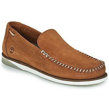 鞋子 男士 船鞋 Timberland 添柏岚 ATLANTIS BREAK VENETIAN 棕色