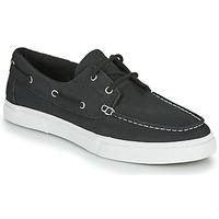 鞋子 男士 船鞋 Timberland 添柏岚 UNIONWHARF2.0EK+ 2EYEBOAT 黑色