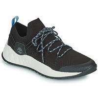 鞋子 男士 球鞋基本款 Timberland 添柏岚 SOLAR WAVE LOW KNIT 黑色