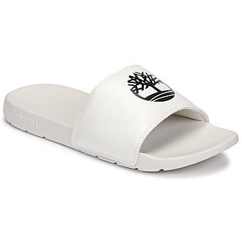 鞋子 休闲凉拖/沙滩鞋 Timberland 添柏岚 PLAYA SANDS SPORTS SLIDE 白色