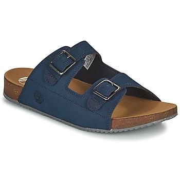 鞋子 儿童 休闲凉拖/沙滩鞋 Timberland 添柏岚 CASTLE ISLAND SLIDE 蓝色