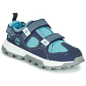 鞋子 儿童 凉鞋 Timberland 添柏岚 TREELINE FISHERMAN 蓝色