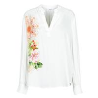 衣服 女士 衬衣/长袖衬衫 Desigual TIGRIS 白色