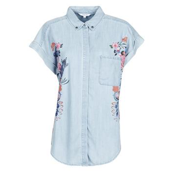 衣服 女士 衬衣/长袖衬衫 Desigual SULLIVAN 蓝色