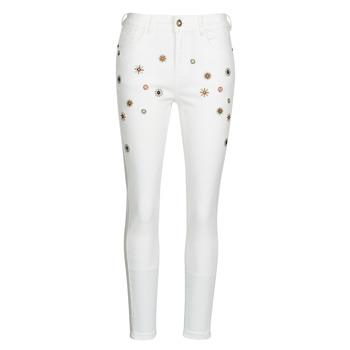 衣服 女士 紧身牛仔裤 Desigual AUSTRIA 白色