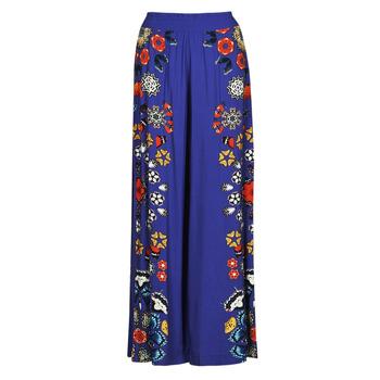 衣服 女士 女士阔腿裤/灯笼裤 Desigual CHIPRE 蓝色