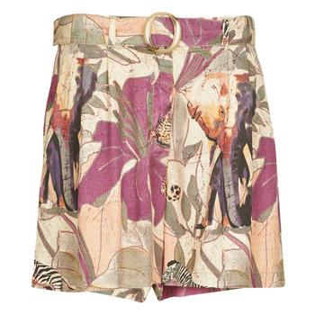 衣服 女士 短裤&百慕大短裤 Desigual ETNICAN 多彩