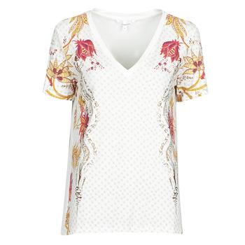 衣服 女士 短袖体恤 Desigual PRAGA 白色