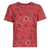 衣服 女士 短袖体恤 Desigual LYON 红色