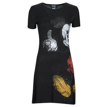 衣服 女士 短裙 Desigual MICKEY 黑色