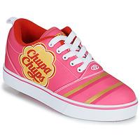 鞋子 女孩 轮滑鞋 Heelys CHUPA CHUPS PRO 20 玫瑰色 / 白色
