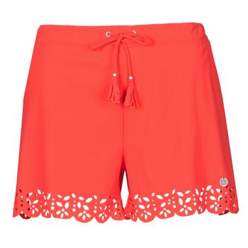 衣服 女士 短裤&百慕大短裤 Banana Moon MEOW 红色