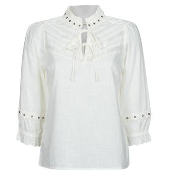 衣服 女士 女士上衣/罩衫 Cream NITTY BLOUSE 米色