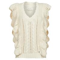 衣服 女士 羊毛衫 Cream ANNOLINA KNIT SLOPOVER 白色