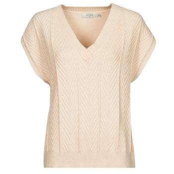 衣服 女士 女士上衣/罩衫 Cream MAHIMA SLEEVELESS 米色