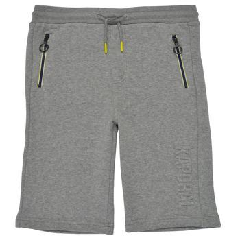 衣服 男孩 短裤&百慕大短裤 Kaporal MATYS 灰色