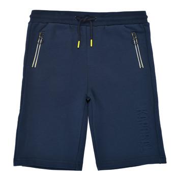 衣服 男孩 短裤&百慕大短裤 Kaporal MATYS 海蓝色