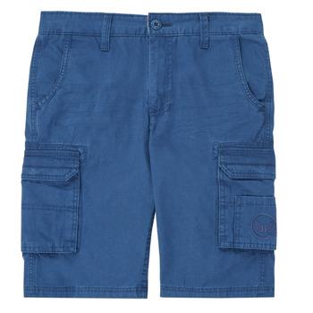 衣服 男孩 短裤&百慕大短裤 Kaporal MEDEN 蓝色