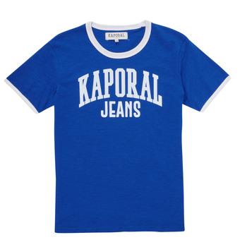 衣服 男孩 短袖体恤 Kaporal METRO 蓝色