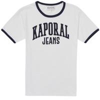 衣服 男孩 短袖体恤 Kaporal METRO 白色