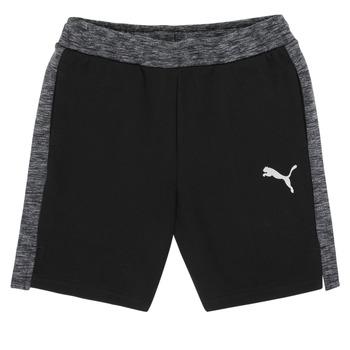 衣服 男孩 短裤&百慕大短裤 Puma 彪马 EVOSTRIPE SHORTS 黑色