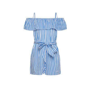 衣服 女孩 连体衣/连体裤 Pepe jeans LILI 蓝色