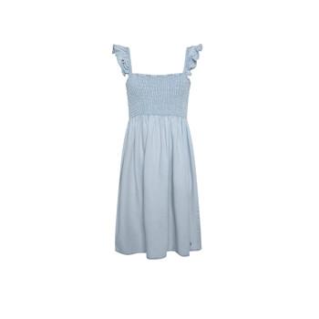 衣服 女孩 短裙 Pepe jeans MARIA DRESS 蓝色