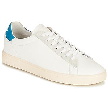 鞋子 球鞋基本款 Claé BRADLEY CALIFORNIA 白色 / 蓝色