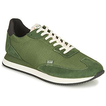 鞋子 男士 球鞋基本款 Claé RUNYON 绿色