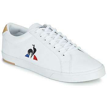 鞋子 男士 球鞋基本款 Le Coq Sportif 乐卡克 VERDON II 白色 / 棕色