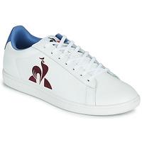 鞋子 男士 球鞋基本款 Le Coq Sportif 乐卡克 MASTER COURT 白色 / 蓝色