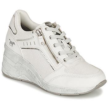 鞋子 女士 球鞋基本款 Mustang NULUK 米色