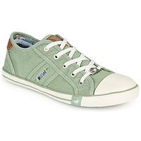 鞋子 女士 球鞋基本款 Mustang NATHALIA 绿色 / 米色