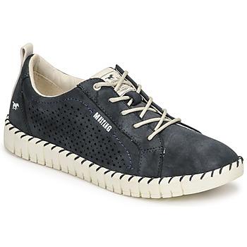 鞋子 女士 球鞋基本款 Mustang NINA 海蓝色