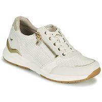 鞋子 女士 球鞋基本款 Mustang ANINTA 白色 / 金色