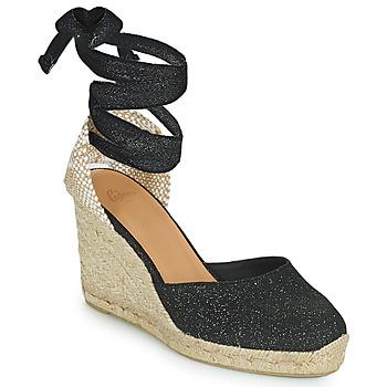 鞋子 女士 凉鞋 Castaner CARINA 黑色 / 金色