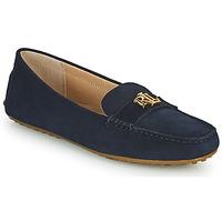 鞋子 女士 皮便鞋 Lauren Ralph Lauren BARNSBURY FLATS CASUAL 海蓝色