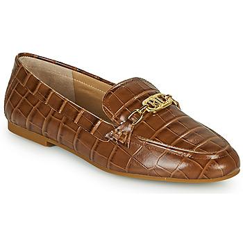 鞋子 女士 皮便鞋 Lauren Ralph Lauren AVERI 棕色