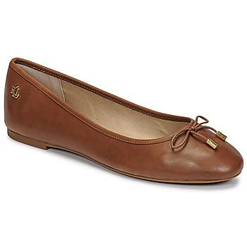 鞋子 女士 平底鞋 Lauren Ralph Lauren JAYNA 棕色
