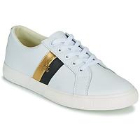 鞋子 女士 球鞋基本款 Lauren Ralph Lauren JANSON II 白色 / 金色