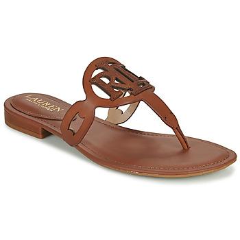 鞋子 女士 凉鞋 Lauren Ralph Lauren AUDRIE 棕色