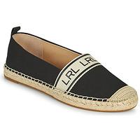 鞋子 女士 帆布便鞋 Lauren Ralph Lauren CAYLEE 黑色