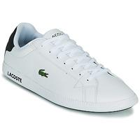 鞋子 男士 球鞋基本款 Lacoste GRADUATE 0120 2 SMA 白色 / 黑色
