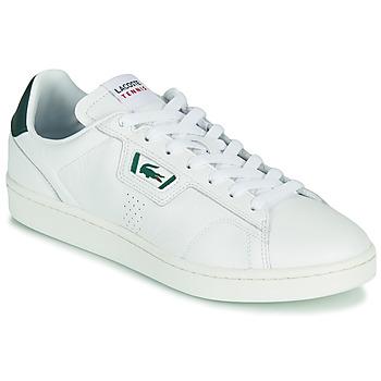 鞋子 男士 球鞋基本款 Lacoste MASTERS CLASSIC 07211 SMA 白色 / 绿色