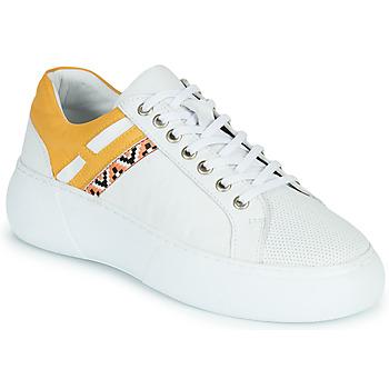 鞋子 女士 球鞋基本款 Metamorf'Ose JANINA 黄色
